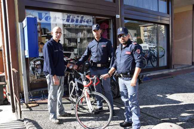 restituzione bici rubata