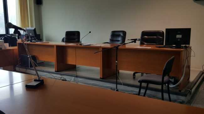 tribunale aula a vuota